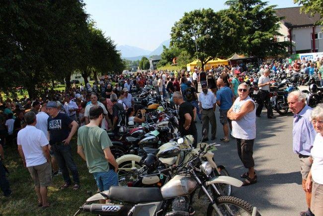 Spektakuläres Treffen alter Motorräder am Sonntag, 16. Juli ab 9 Uhr in Weiler.