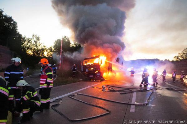 Der Fahrer blieb unverletzt
