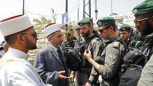 Zutritt zum Tempelberg für Muslime beschränkt