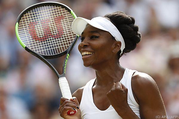 Venus Williams stellt sich dem Generationenduell