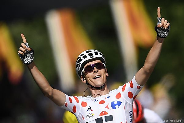 Barguil feierte seinen ersten Tour-Etappensieg