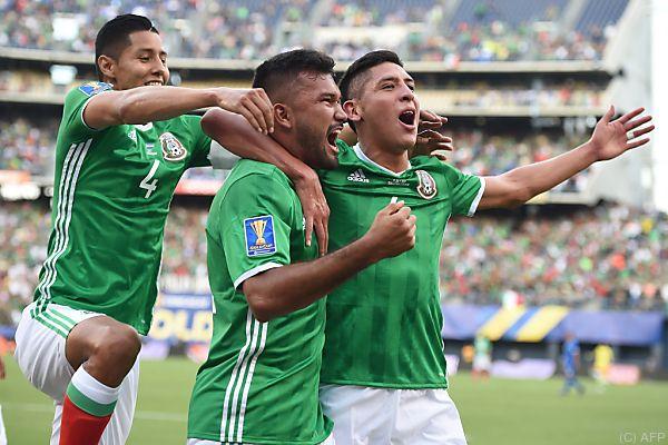 Mexiko gewann mit 2:0 gegen Curacao