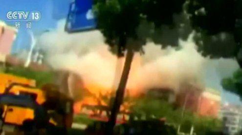 Gasexplosion in Restaurant in China: Mindestens zwei Tote