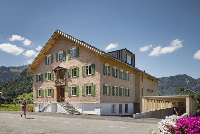 """Eröffnung """"Haus mitanand"""" in Bezau – Ein Wälderhaus für"""