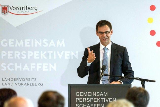 Der Vorarlberger Landeshauptmann Markus Wallner (ÖVP) ist derzeit Vorsitzender der Landeshauptleutekonferenz.