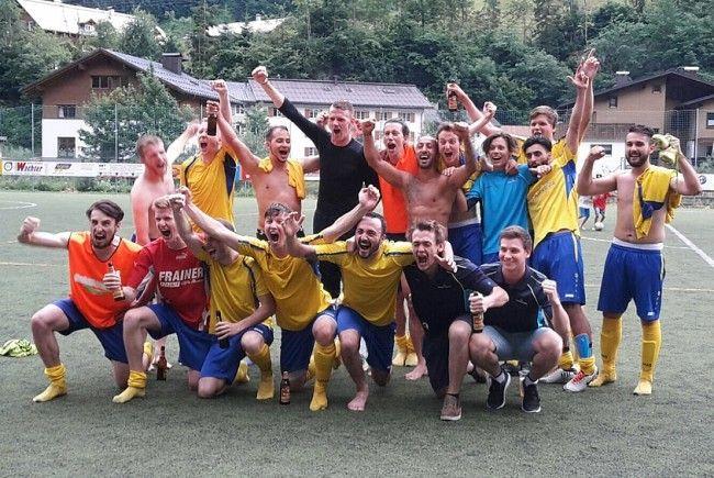 19 (!) Jahre ohne Aufstieg war für FC Klostertal nun genug