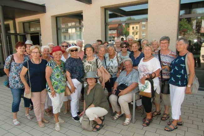 Ausflug der Kneipp Tanzgruppe ins Hutmuseum in Lindenberg