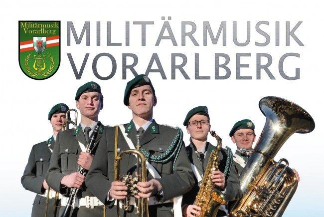 Benefizkonzert der Militärmusik Vorarlberg