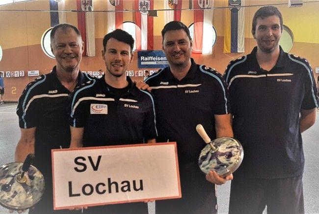 Christoph Sohm, Abraham Sohm, Stefan Pienz, Patrik Planggerv.l.n.r.