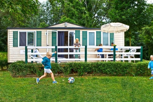 Mobilheine sind eine gute Wahl für den ersten Camping-Urlaub mit Kindern