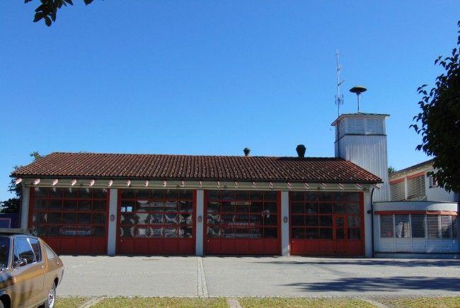 Auf dem Feuerwehrgebäude in Mäder wird im Herbst eine PV Anlage errichtet
