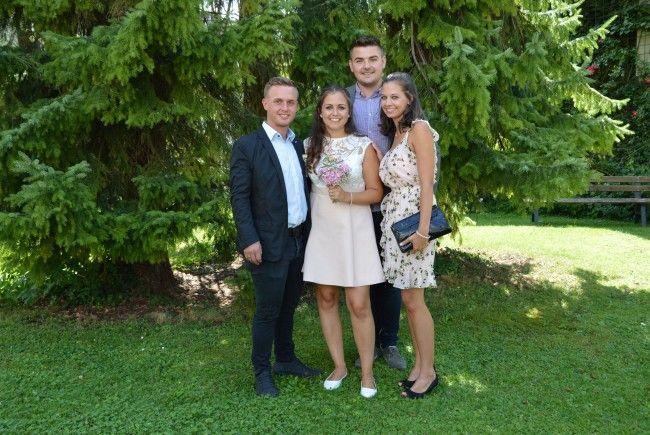 Lisa Rhomberg und Christian Rupp feierten Hochzeit