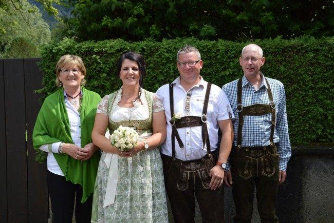 Martina Bartenbach und Jürgen Winsauer haben geheiratet.