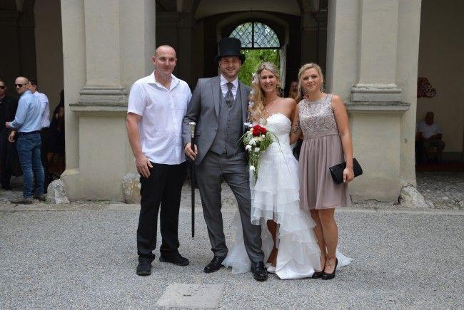 Julia Hetschold und Nico Drechsel haben geheiratet.
