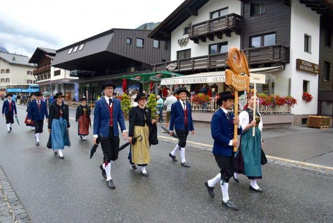 Trachtengruppe Dalaas in Lech