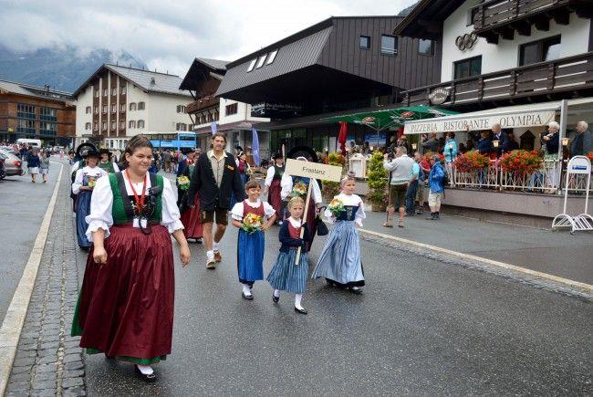Trachtengruppe Frastanz in Lech