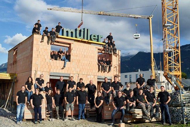 Müller feiert 50 Jahre Wohnbau mit Verantwortung