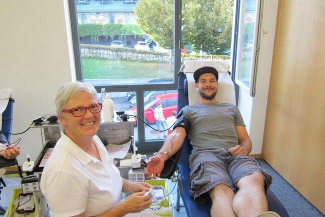 Blutspendeaktion in Hohenems