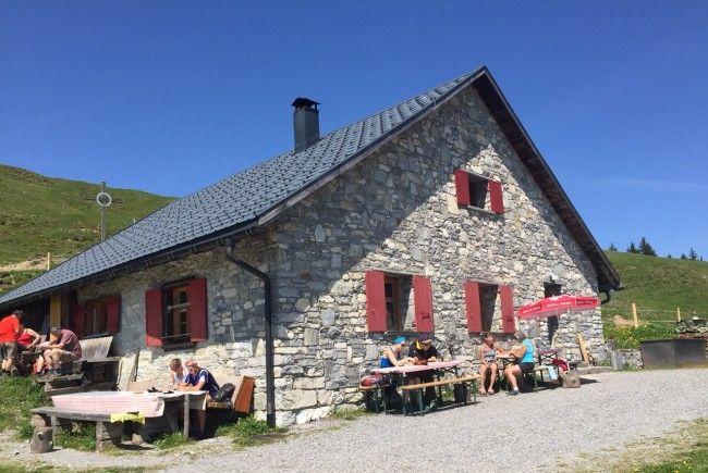 Alpmesse auf der Alpe Hohe Kugel am 16. Juli um 12 Uhr.
