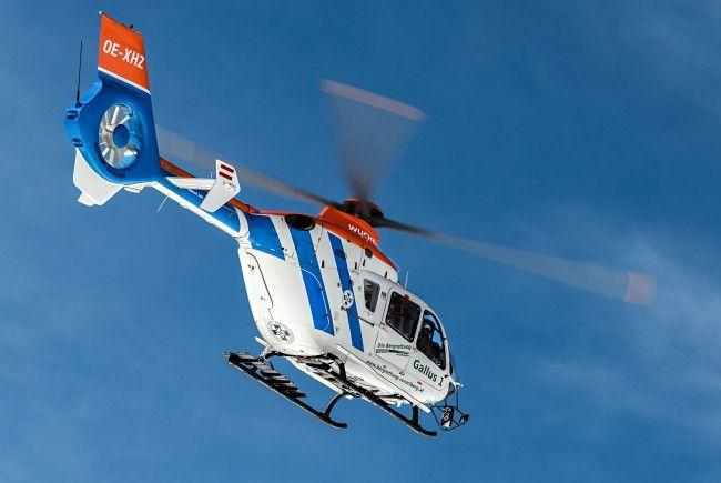 Der Hubschrauber Gallus 1 startet für die Bergrettung heuer auch im Sommer.