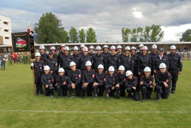 3 Gruppen mit insgesamt 5 erfolgreichen Starts beim Landesbewerb in Lustenaz