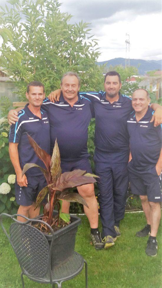 Das erfolgreiche Lochauer Stocksportteam