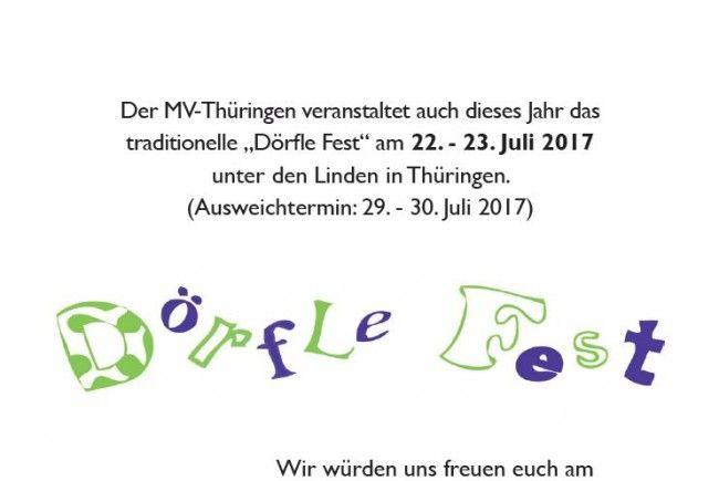 Dörflefest 2017