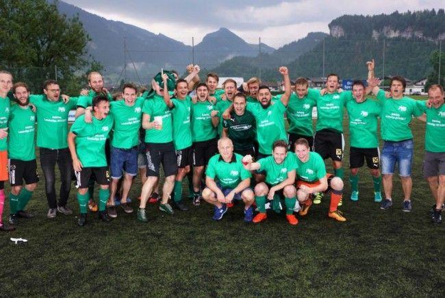 Die Bezauer konnten den Aufstieg in die Landesliga bejubeln.