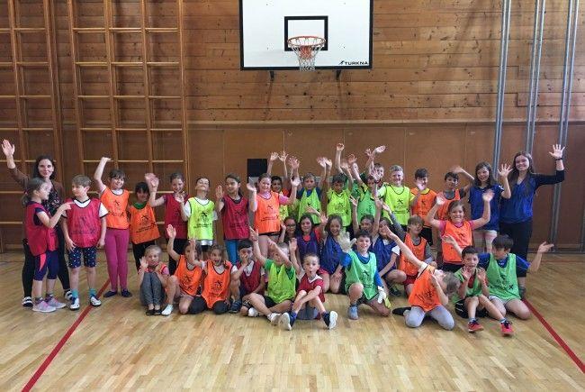 Spiel und Spaß in der Volksschule Lech am Arlberg