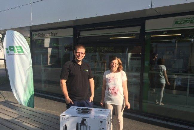 essen.VOL.AT: Küchenmaschine von EP:Scheucher gewonnen!