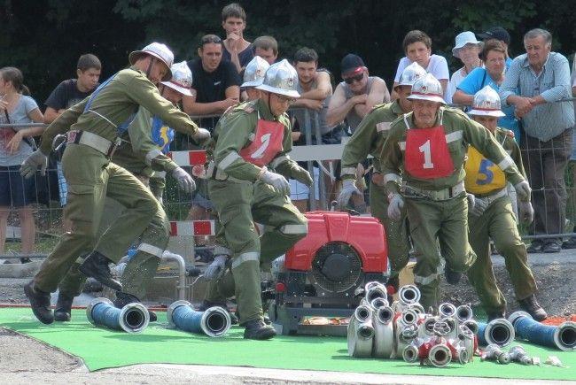 72 eingespielte Teams beteiligen sich am Nassleistungswettbewerb in Krumbach.