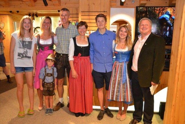 Intersport Eröffnung Lech