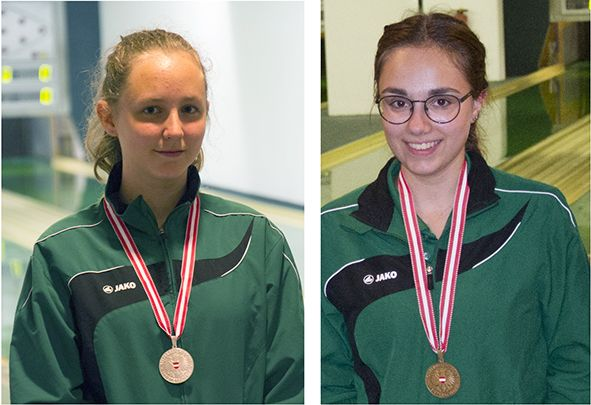 Silber und Bronze für junge Sportkegler