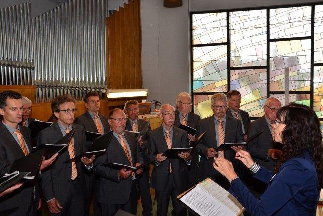 """""""Frohsinn Koblach"""" - Messgestaltung 110 Jahre Männerchor Muntlix"""