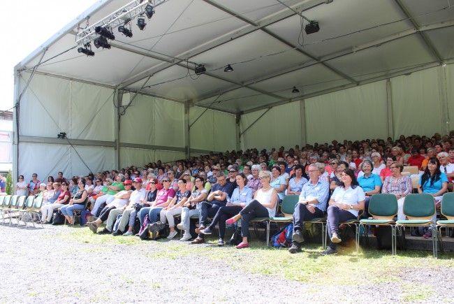 Knapp 600 Mohi-HelferInnen aus ganz Vorarlberg nahmen am Dankeschönfest teil.