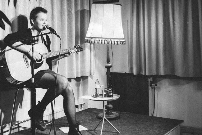 Bei der v:tunes:night rocken junge MusikerInnen aus Vorarlberg die Bühne des poolbar-Festival.