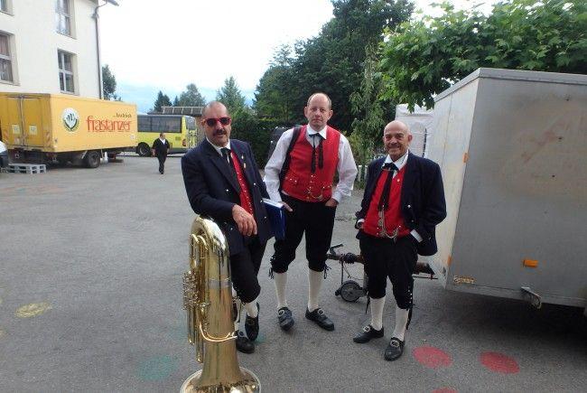 Dorffest Meiningen mit der HM Schruns