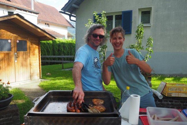 Grillen zum Start des Altacher Sommers
