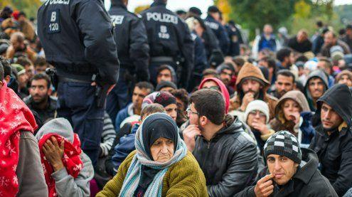 Schlepperbericht: 50.848 Illegale kamen 2016 nach Österreich