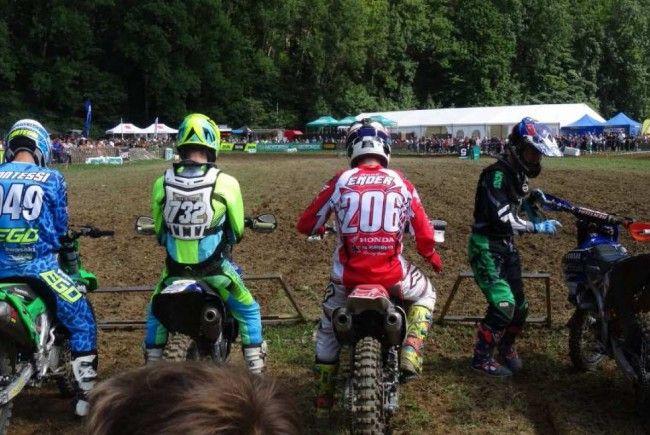 Rene Ender beim Rennen in Broc.
