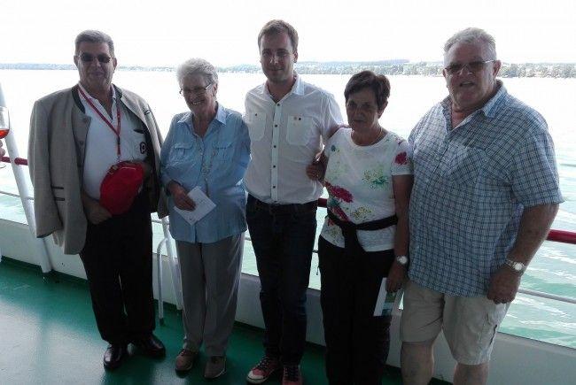 Eindrucksvolle PVÖ-Schifffahrt nach Friedrichshafen