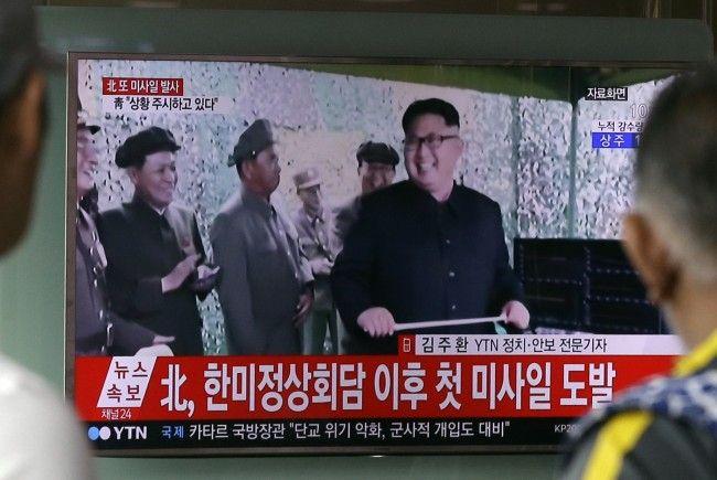 Raketenübung von USA und Südkorea