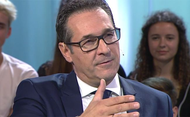 FPÖ-Chef Strache im Interview