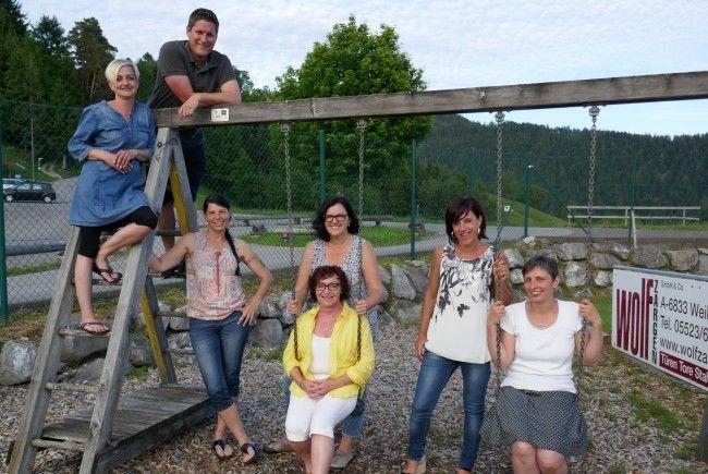 Der Vorstand des Theatervereins Fraxern.