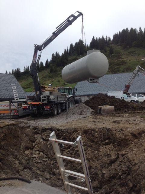 Erneuerung Wasserversorgung Alpe Gävis