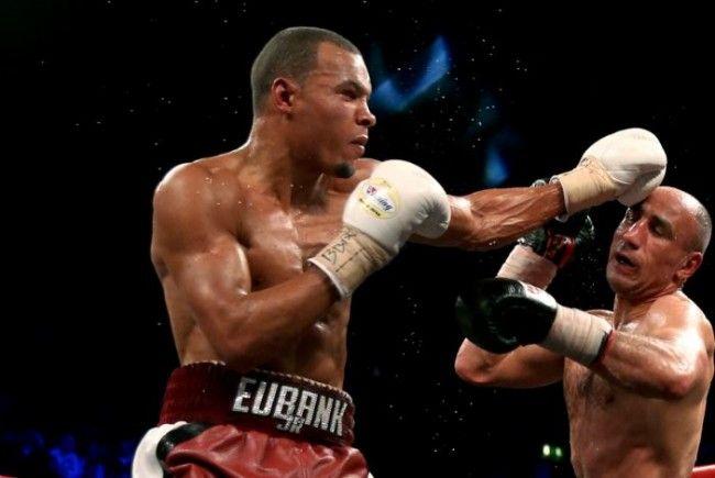 Chris Eubank Jr. ließ Arthur Abraham keine Chance.