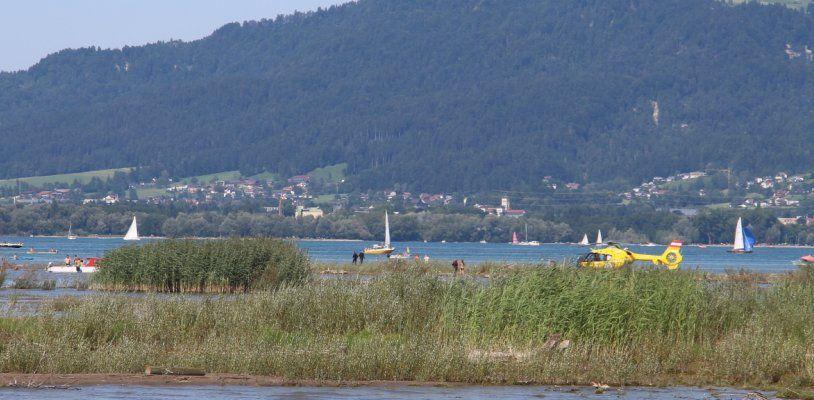 Badeunfall bei Achmündung in Bregenz - Dreijährige in kritischem Zustand