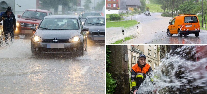 Alarmstufe Rot: Starkregen im Anmarsch - hier drohen besonders heftige Schauer