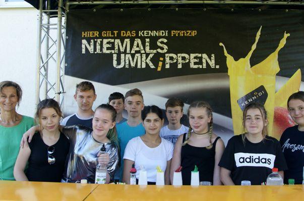Fröhliches Sportfest an der Mittelschule Bludenz bei bestem Wetter