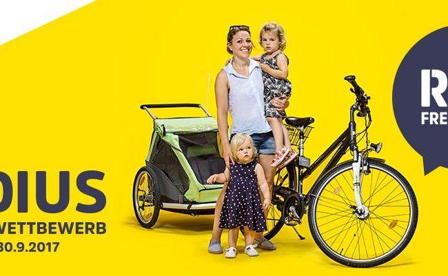 Halbzeit: Fahrradwettbewerb RADIUS